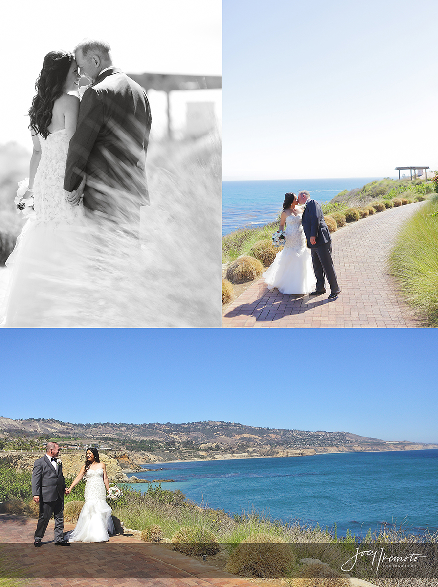 Terranea And Los Verdes Country Club Palos Verdes Wedding Jim And Joy
