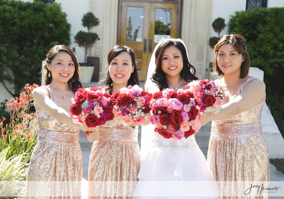 Redondo Beach Historic Library Wedding, Ziqing and Cherry |