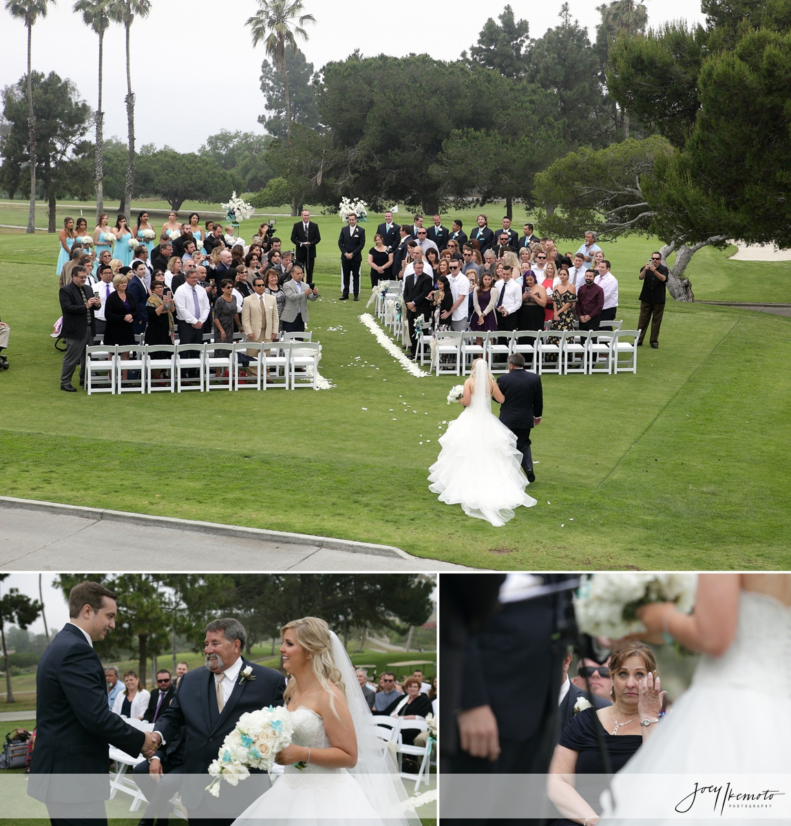 Los Verdes Country Club Palos Verdes Wedding Andrew Amanda