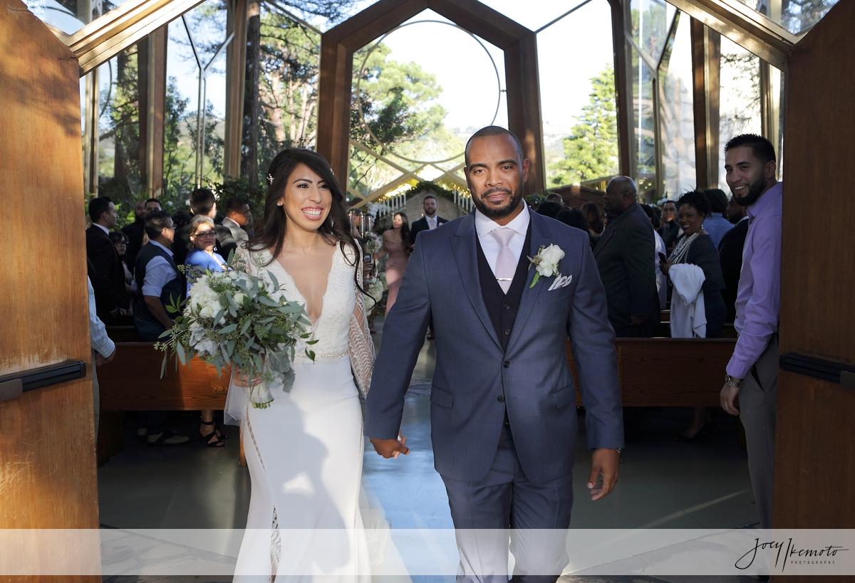Wayfarers Chapel And Portofino Redondo Beach Wedding Tedd Pamela