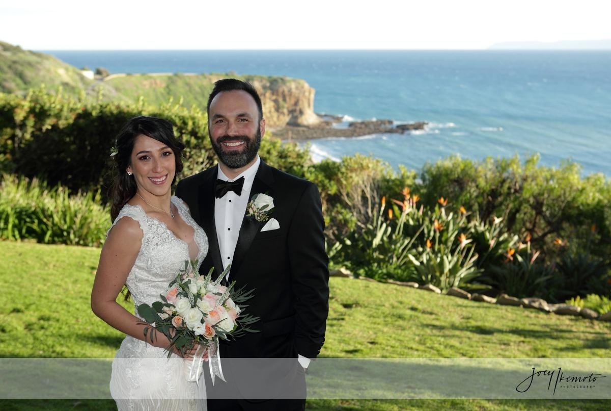 Wayfarers Chapel and Terranea Resort Marsel Restaurant Wedding, John