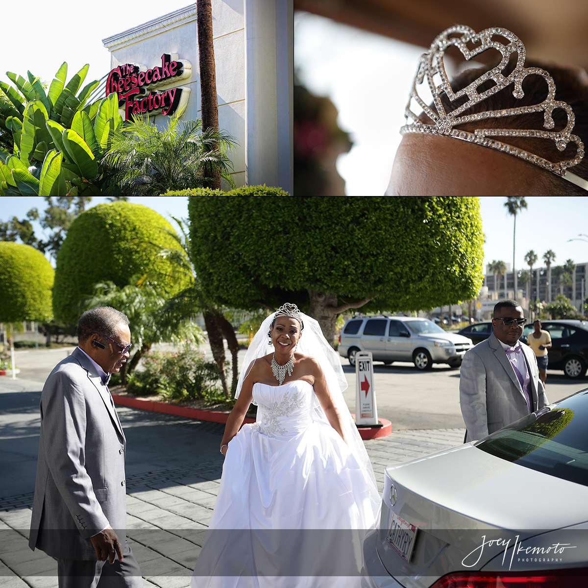 The Cheesecake Factory Redondo Beach Wedding 0001 Blog Collage 1449877958447